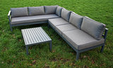 Aluminium Loungeset Verstelbaar_
