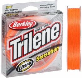 Berkley Trilene Sensation Blaze Orange Nylon
