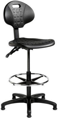 Hoge Werkstoel Werkplaatsstoel