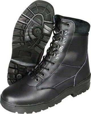 Patrol Boot Leder Laarzen