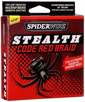 SpiderWire Stealth Code Red Braid